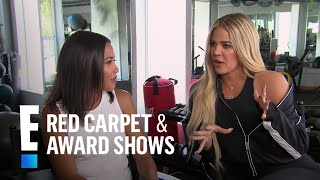 Khloé Kardashian Tells Difference of Working Out Post-Baby | E! Live from the Red Carpet