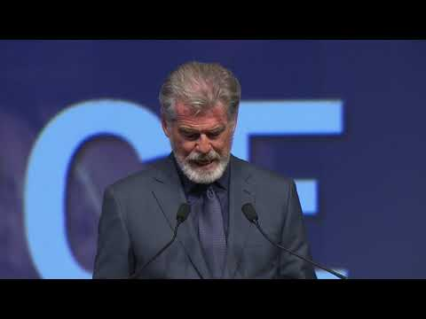 FCAD 2019  - Pierce Brosnan's speech