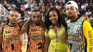 Angela Simmons & Ex Bow Wow Attend Romeo's Celebrity 🏀 Game (2018)