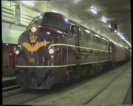 DSB My 1101 på færgen  Nyborg - Korsør 1990