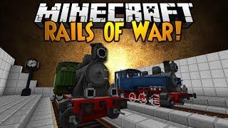 Minecraft Mod Showcase: RAILS OF WAR!