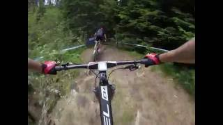 UCI Mountain Bike World Cup Lenzerheide 2016 XCO track POV