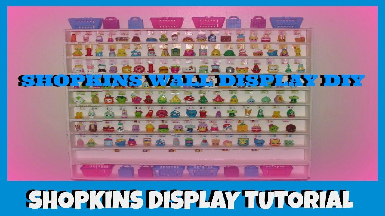 Exhibition Stand Tutorial : How to make shopkins season wall display