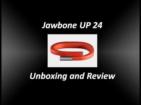 Jawbone Up 24 Unboxing Firstlook App Setup Youtube