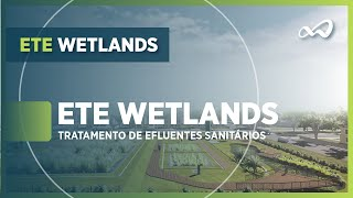 ETE Wetlands | Apresentação da tecnologia wetlands construídos para tratamento de efluentes