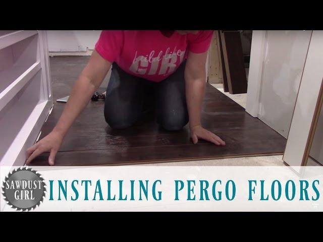 How To Install Pergo Laminate Flooring Videotopka