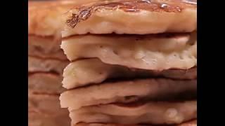 Американские панкейки с яблоком | Рецепт панкейков