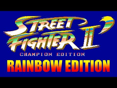 [4/4] STREET FIGHTER II DASH RAINBOW EDITION