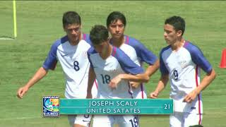CU15 2017: Costa Rica vs United States Highlights