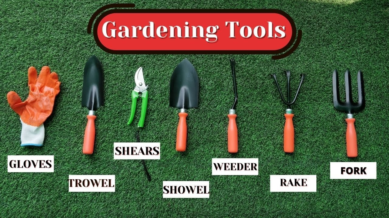 Garden Tools you MUST buy their Uses!
