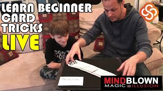 Beginner Card Magic LIVE!