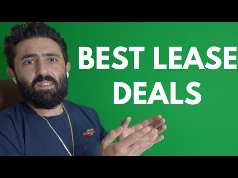 These Are The BEST LEASE DEALS For August 2020