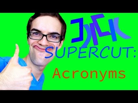 JACKSFILMS SUPERCUT - Acronyms.
