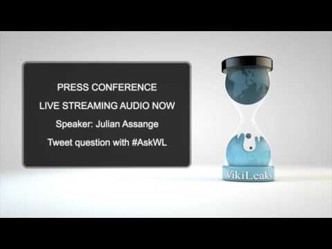WikiLeaks Press Conference on CIA Vault 7: Dark Matter | March 23rd, 2017