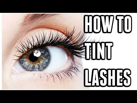 34f46229aa9 HOW TO TINT EYELASHES AT HOME 💖   Carly Musleh - YouTube