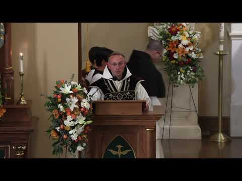 Homily | Dom Alban | Requiem Mass for Dr  Brendan McGuire