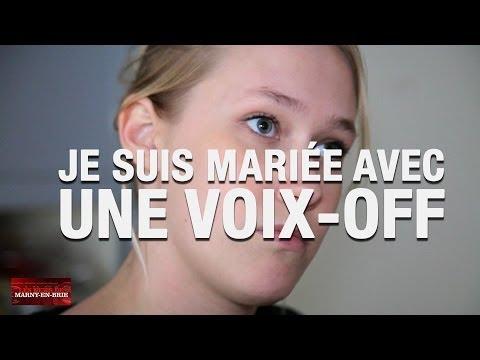 NEWS DE MARNY - Je suis mariée à une voix off