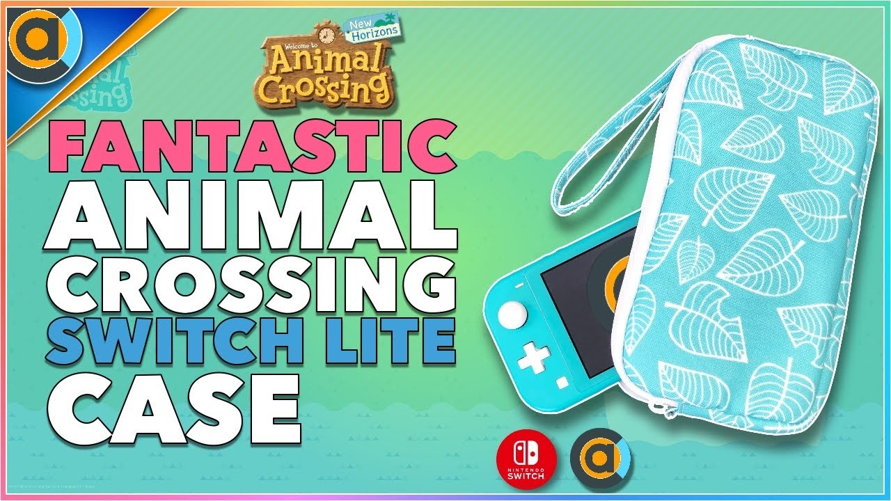 Stunning Animal Crossing Nintendo Switch Lite Case Aloha Leaf