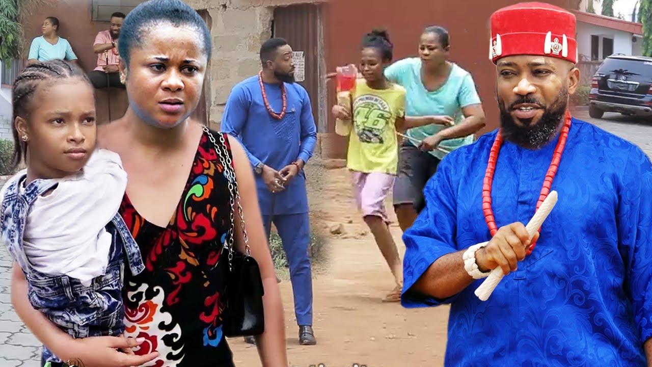 "Download The Poor Beautiful Single Mother & The President Son ""New Movie"" 7&8-Fredrick Leonard/Uju Okoli 2021"