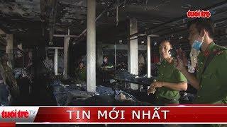 Cháy cửa hàng kinh doanh quần áo, thiệt hại hàng tỷ đồng