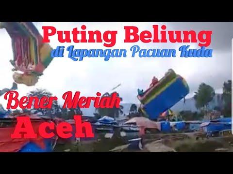 Angin Puting Beliung Hantam Lapangan Pacuan Kuda Bener Meriah Aceh
