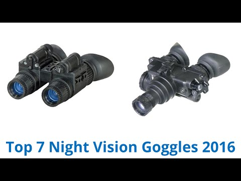 7 Best Night Vision Goggles 2016