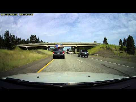 Rear end collision from quickly stopping traffic
