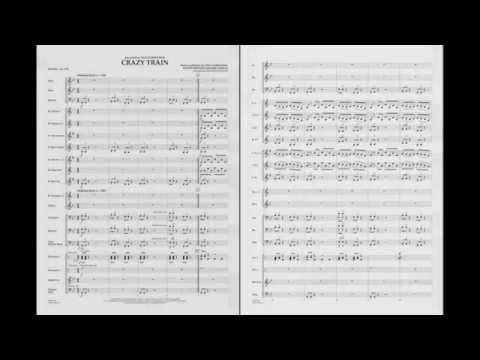 Crazy Train arranged by Johnnie Vinson
