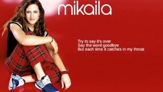 Mikaila: Bonus Track: The Art of Letting Go (Lyrics)