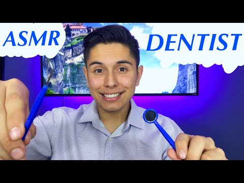 [ASMR] Dentist Role Play! (Check Up & Tingles!)