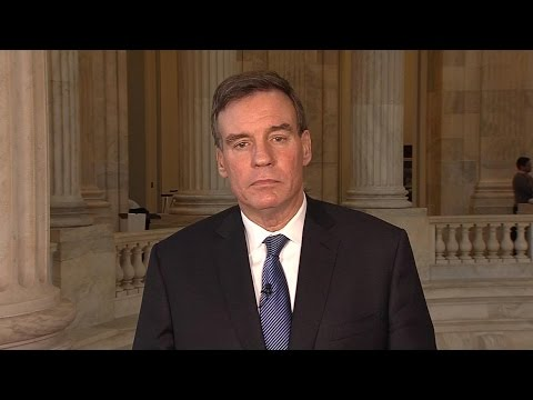 "Sen. Mark Warner: ""Putin didn't do this to help Republicans..."" (Mar 30, 2017) 