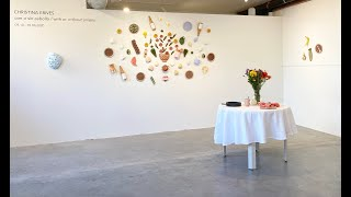 Christina Erives Solo Show Opening Reception