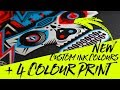 New Custom Ink Colour Mixing System on a 4 Colour Print