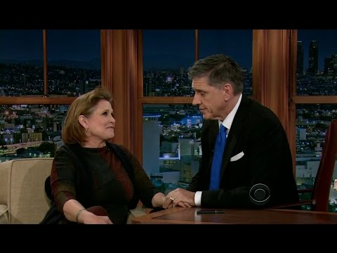 Late Late Show with Craig Ferguson 1/18/2013 Carrie Fisher, Steven Yeun