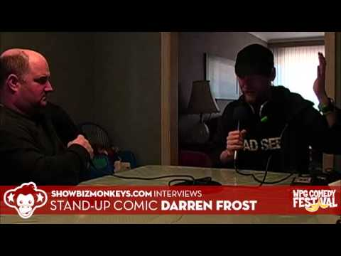 "Darren Frost - Interview with the ""Rank & Vile"" stand-up comic for the 2013 Winnipeg Comedy Festival"