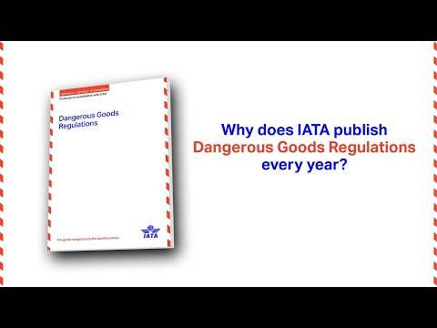 Why are IATA Dangerous Goods Regulations manuals updated every year?