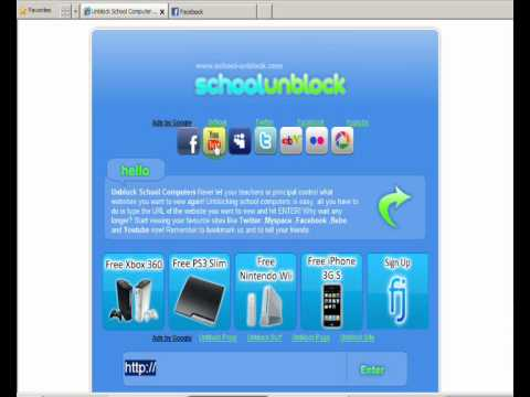 how to get a website unblocked at school