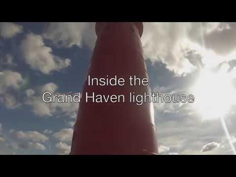 Take a peek inside the Grand Haven south pier lighthouse