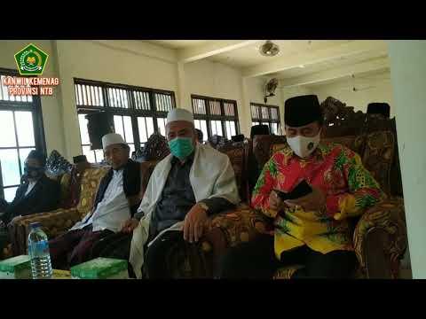 Kepala Kantor Wilayah KEMENTERIAN Agama Provinsi NTB menghadiri Wisuda Mahasantri Nurul Hakim