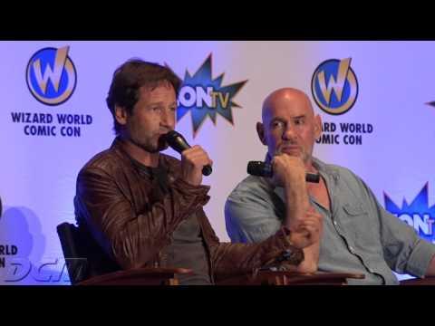 Wizard World Pittsburgh 2015   X-Files Panel with David Duchovny & Mitch Pileggi