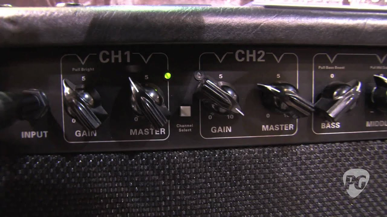 NAMM '11 - Randall Amps RG8040 Combo & RD50H Diavlo Demos