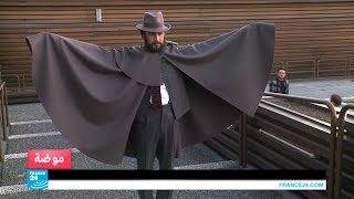 بالفيديو.. 1000 تصميم للملابس الرجالي بمعرض عالمى