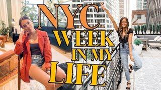 NEW YORK CITY Work Week In My Life