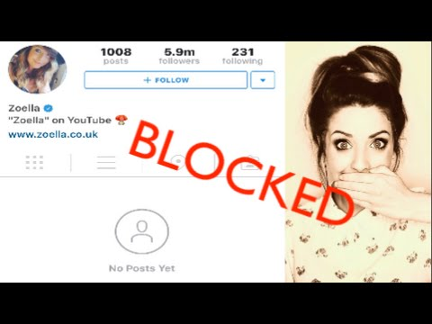 Zoella blocked me! :-/ Feat. Jenna Marbles & Joey Graceffa