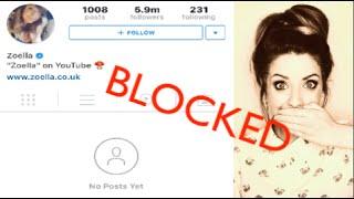 Zoella blocked me! :-/ Feat. Jenna Marbles & Joey Graceffa