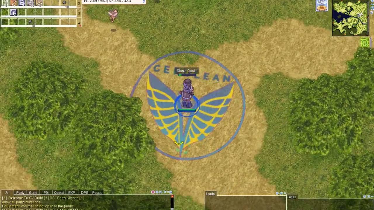Cerulean V Custom GRF