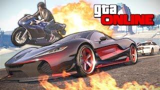 GTA 5 Online (PC) - Адский экстрим! #133