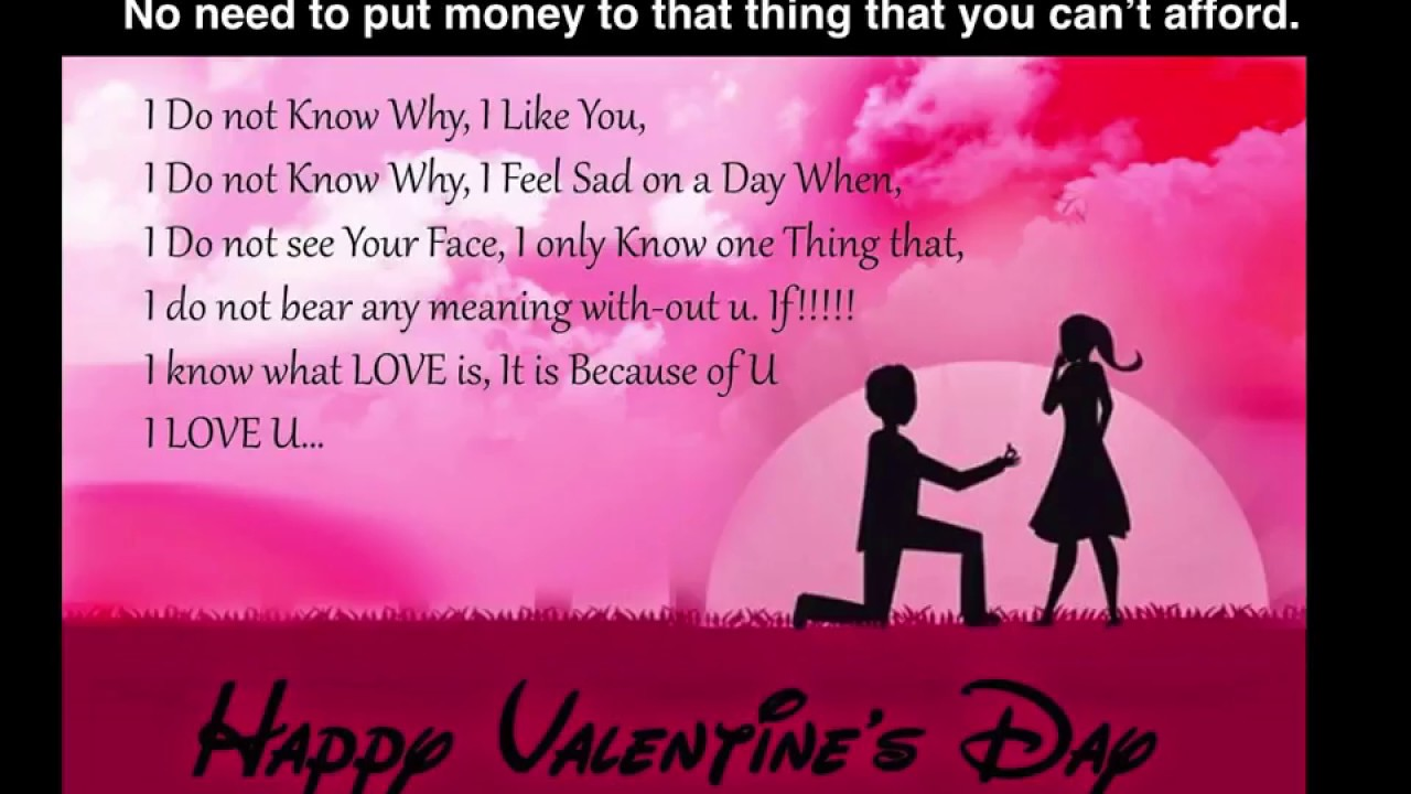 Happy Valentines Day Quotes 2018 For GF, BF, Friends - YouTube