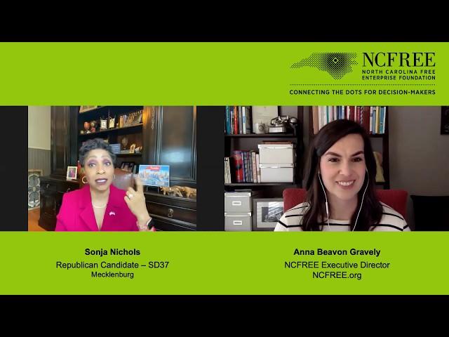 NCFREE Candidate Interview - Sonja Nichols, SD-37