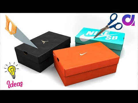 How to reuse Waste shoe boxes at home | Best out of waste | Artkala